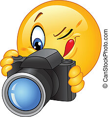 emoticon, fototoestel