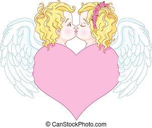 engelen, liefde