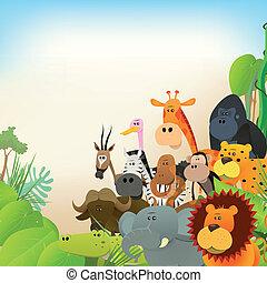 fauna, dieren, achtergrond