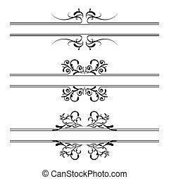 floral decoratie, spandoek