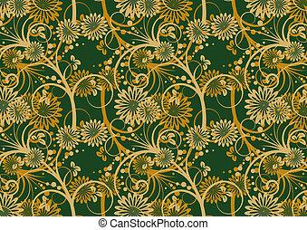 floral ontwerpen, textuur
