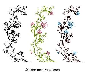 floral ontwerpen, vrijstaand