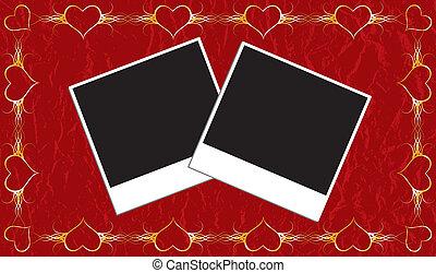 frame, valentines