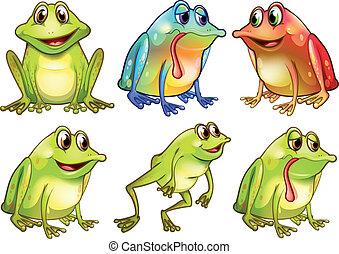 frogs, anders, zes