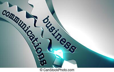 gears., communicatie, metaal, zakelijk