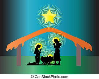 geboorte, jesus