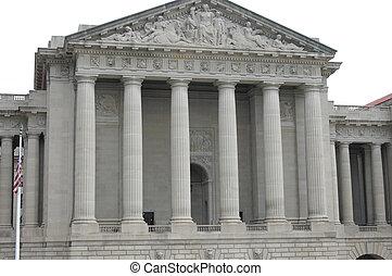 gebouw, regering