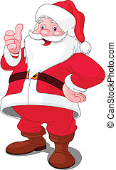 gelukkige kerstmis, kerstman