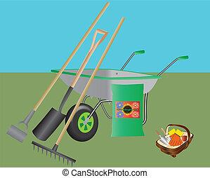gereedschap, tuinieren
