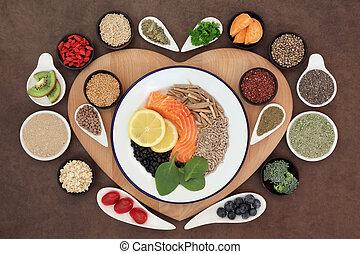 gezond hart, voedingsmiddelen
