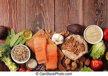 gezonde , samenstelling, voedingsmiddelen