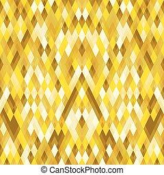 goud, abstract concept, geometrisch, achtergrond