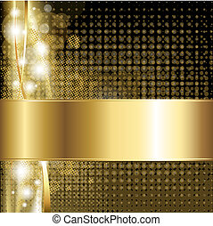 goud, luxe, achtergrond