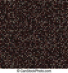 gouden, achtergrond., halftone, dotted, abstract