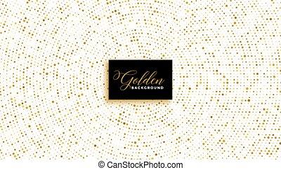gouden, witte , schitteren, modieus, effect, achtergrond