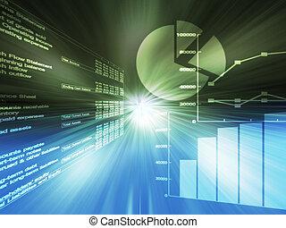 grafieken, spreadsheet