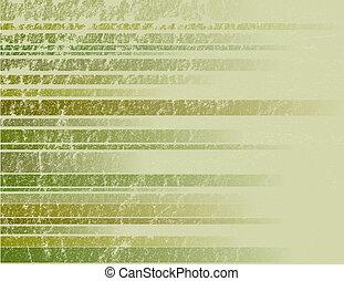 groene, gestreepte , grunge, achtergrond