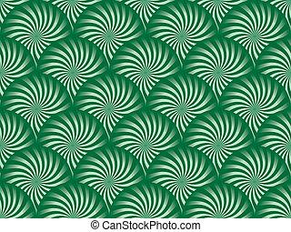 groene, pepermunt, achtergrond