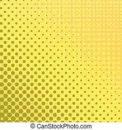 halftone, dots., set, patterns.