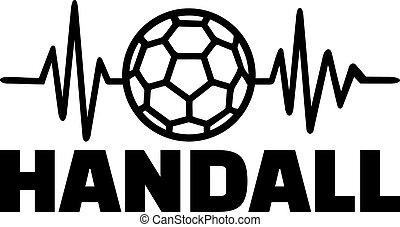 handbal, hartslag, pols