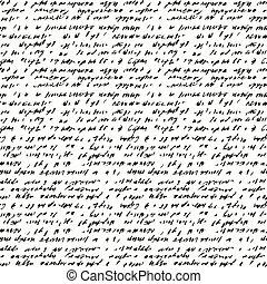 handschrift, abstract, achtergrond, seamless