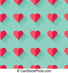 hart, abstract, valentine, pattern., roze