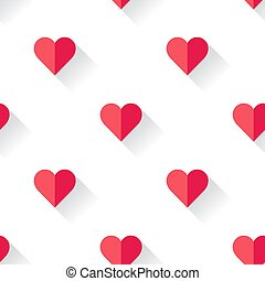 hart, abstract, valentines, pattern.
