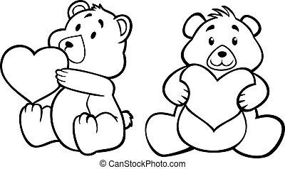 hart, beer, teddy