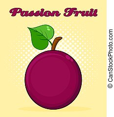 hart, blad, eenvoudig, spotprent, fruit, hartstocht, ontwerp, tekening