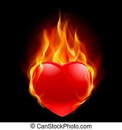 hart, burning