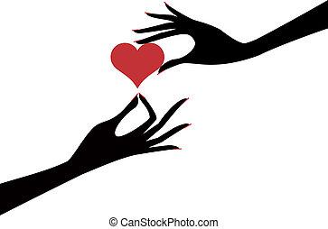 hart, hand