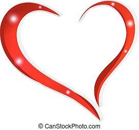 hart, liefde