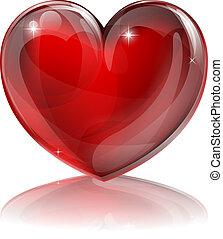 hart, rood, illustratie
