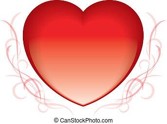 hart, rood, valentijn