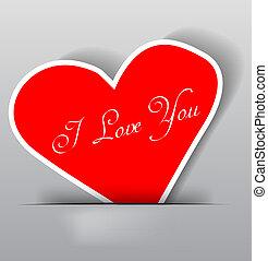 hart, valentijn