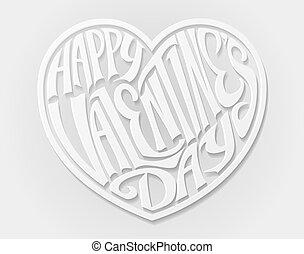 hart, valentines dag, vrolijke