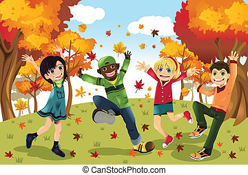 herfst, seizoen, geitjes, herfst