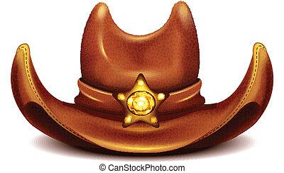 hoedje, sheriff