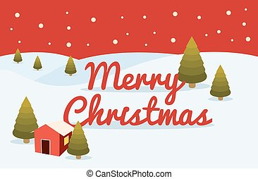 hout, kerstmis