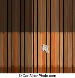 hout, plank, textuur