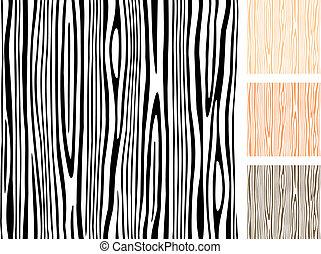 hout, seamless, textuur