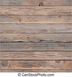hout, vector, plank, textuur