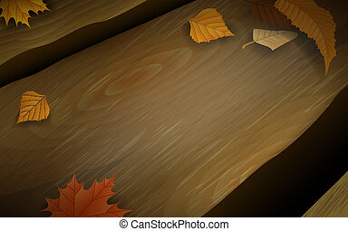 houten, lang, bankje