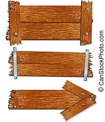 houten teken