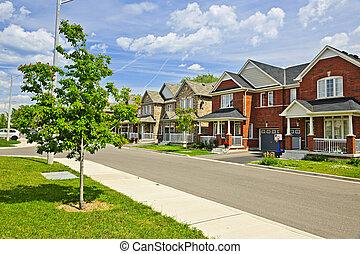 huizen, voorstedelijk