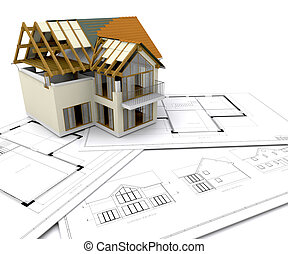 huizenbouw, onder