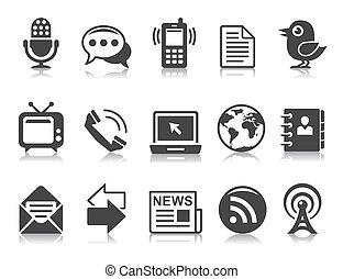 iconen, communicatie