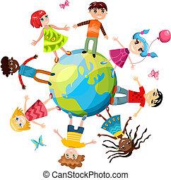 ih, kinderen, wereld