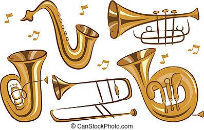 instrumenten, wind