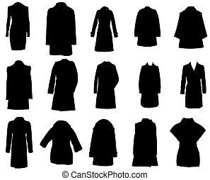 jassen, silhouette, vector, eps10, illustratie